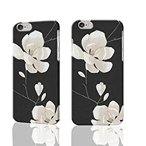 """Designer Selection Magnolia 3D Rough iphone Plus 6 -5.5 inches Case Skin, fashion design image custom iPhone 6 Plus - 5.5 inches , durable iphone 6 hard 3D case cover for iphone 6 (5.5""""), Case New Design By Codystore"""