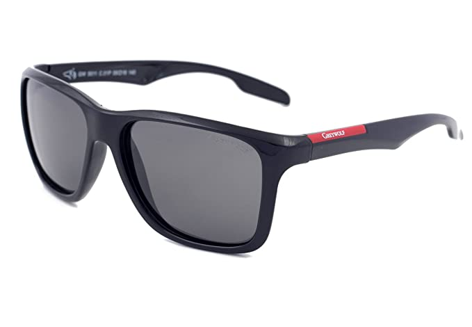 Gafas de sol polarizadas para conducción de lobo gris para hombres de pesca, ciclismo,