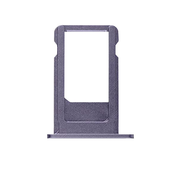 pick up 600a6 24891 Ewparts for Iphone 6s Plus Sim Card Tray Holder Replacement +cleaning Cloth  (Grey(Black))