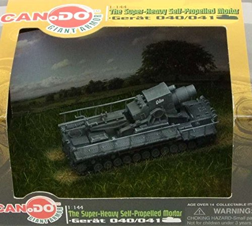 CAN.DO 1:144 Super Heavy Self Propelled Mortar Gerat 040/41 - Odin [PRE-Built/PRE-Painted]