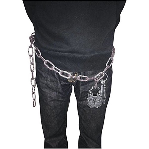 [Costume Beautiful Convict Chain With Lock] (Beautiful Witch Costumes)