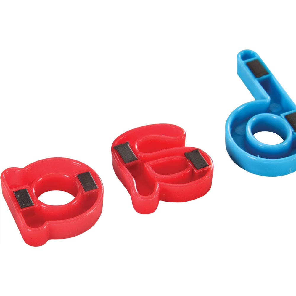 Really Good Stuff MAGtivity Tins and Magnetic Letters Classroom Kit - Make Spelling, Phonics and The Alphabet Fun and Interactive - Includes Magnetic Letters, Storage Case, Trays