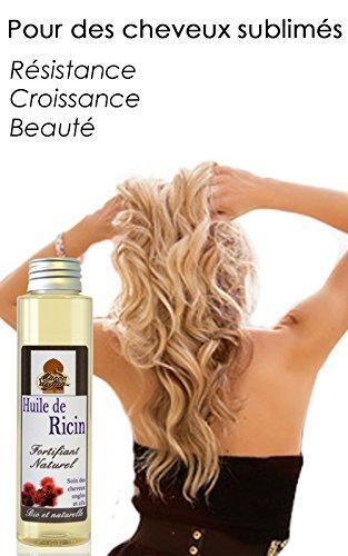 Aceite de Ricino 100% Orgánico y Natural - el crecimiento y la fuerza del cabello - 100ml: Amazon.es: Belleza