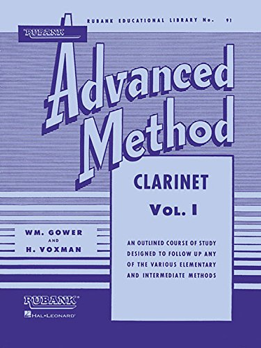 Rubank Advanced Method - Clarinet Vol. 1 ()