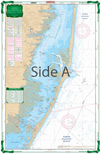 (Waterproof Charts, Large Print Barnegat Bay)