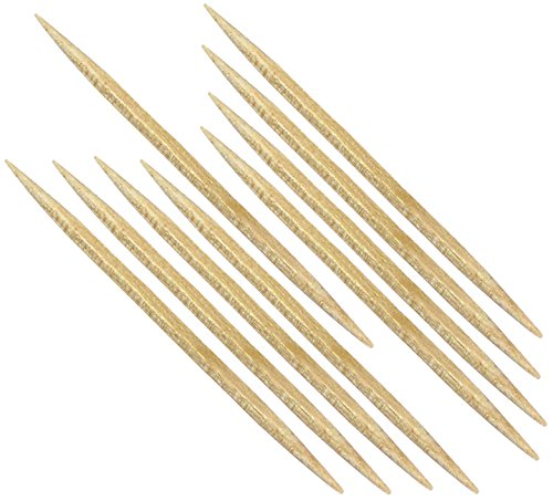 Forster Toothpicks - Round with Square Center - 4800 Count