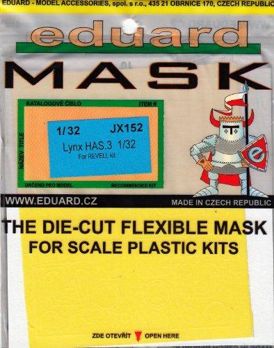 Painting Mask For Eduard Masks 1:32 - Lynx Has.3 Revell Kit -  EDUJX152