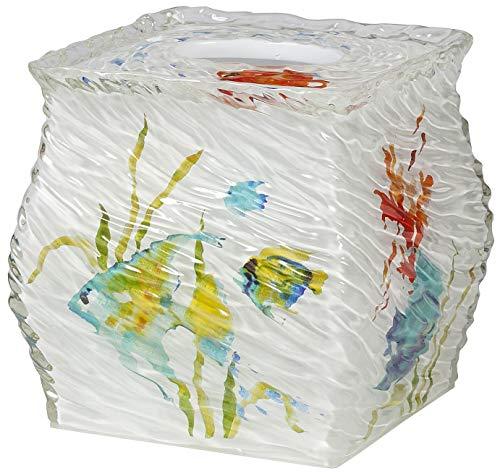 Creative Bath RBF58MULT Rainbow Fish Boutique Tissue, Multi-Color