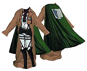 Attack on Titan Survey Corps Female Snuggler Blanket