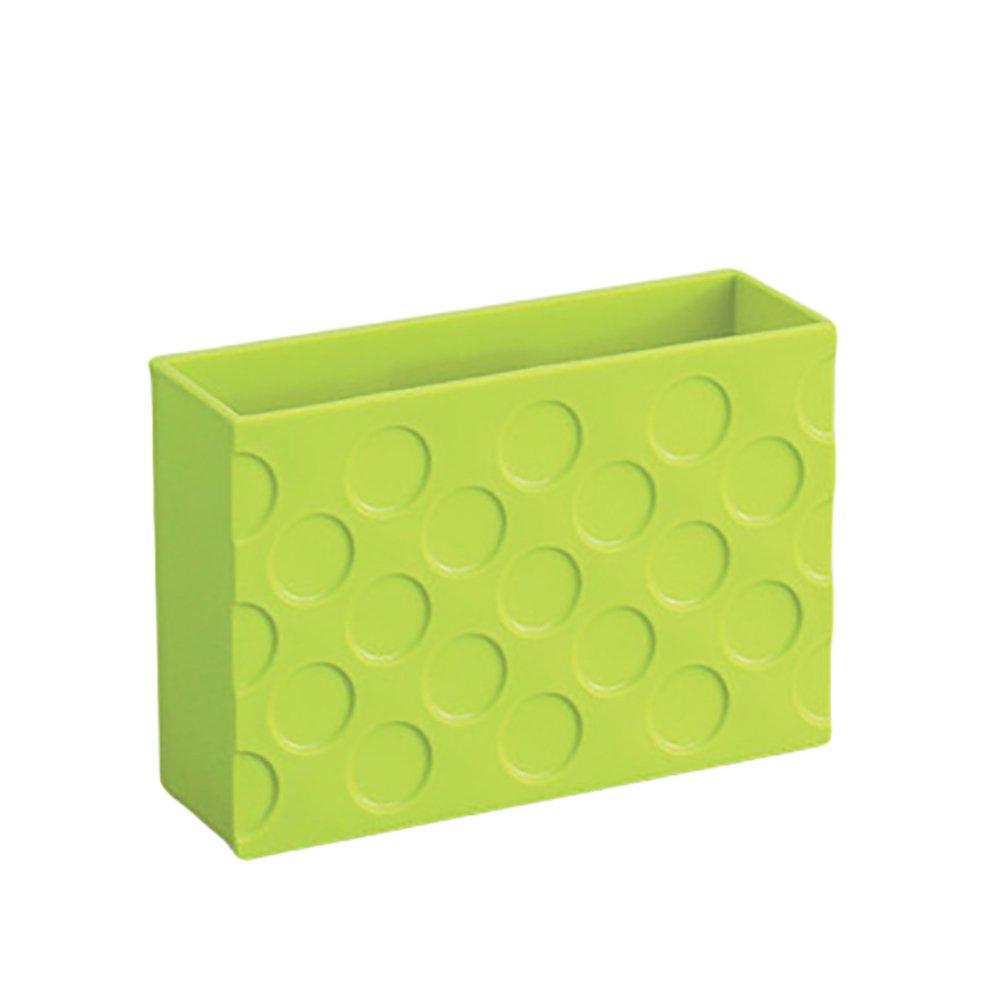 冷蔵庫マグネットオーガナイザーバスケットプラスチックボックスコンテナ冷蔵庫マグネットストレージホルダーラックシェルフ冷蔵庫の/電子レンジオーブンまたは磁気キッチンやオフィスでサーフェス M グリーン K44GLQ41049FUKFRDKS  グリーン B07DXHYCKH