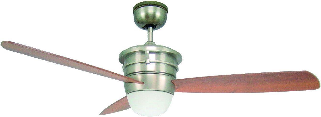 Ventilador de techo–Sonata (BC 705)–con luz, incluye mando a distancia 132cm