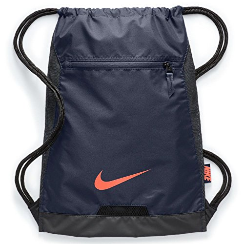 26099e6b7725 Galleon - Men s Nike Alpha Gym Sack (THUNDER BLUE BLACK HYPER CRIMSON)