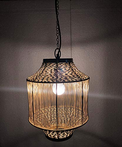 Marine Nautical Store Vintage Hanging Ceiling Light Gold Shiny Brass Maritime Collectible Antique Home Decorative
