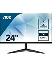 """AOC 24B1H – Monitor MVA de 23.6"""" con Pantalla Full HD (MVA, HDMI, Sin Bordes, Ultrafino, Flicker Free y Low Blue Light)"""