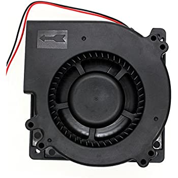 Brushless Radial Blower - UTUO DUAL Ball Bearing High Speed 12V DC Centrifugal Fan with XH-2.5 Plug 120mm by 120mm by 32mm (4.72x4.72x1.26 inch)