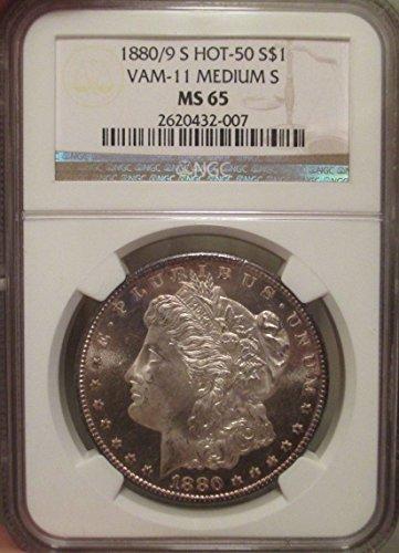 1880 S Morgan Dollar NGC MS-65