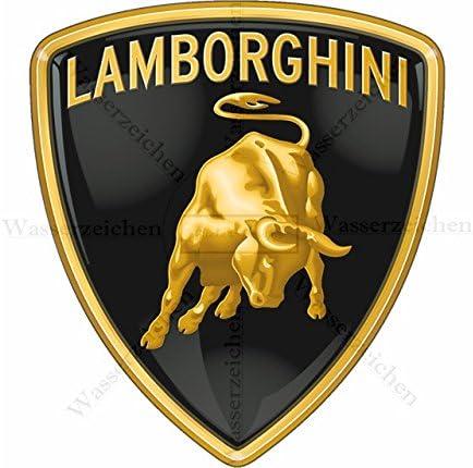 Klebe-Folie Wetterfest Made-IN-Germany kompatibel f/ür:Lamborghini-Logo AB019 UV/&Waschanlagenfest Auto-Aufkleber Profi-Qualit/ät! Sticker-Designs 8cm