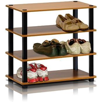 Amazon.com: Soporte para zapatos FURINNO 13080EX/BK de 3 ...