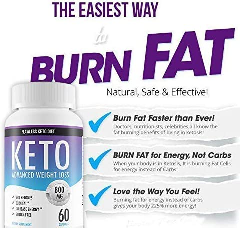 flawless keto diet pills side effects