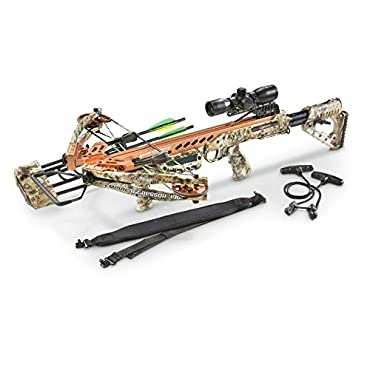 SA Sports Empire Aggressor 390 Crossbow Kit Kryptek Camo