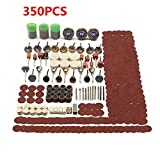 New 350pcs Rotary Tool Accessories Set Grinding Sanding Polishing Kit 670 mini saw attachment drill press three tool combo kit trio scroll bits accessories stylus