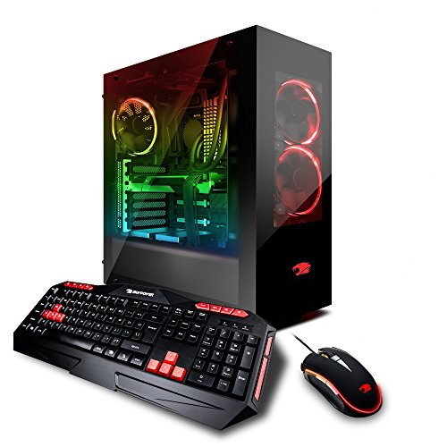 Ibuypower Gaming Pro Desktop Pc Liquid Cooled Am8400i Intel I7 8700K 3 70Ghz  Nvidia Geforce Gtx 1080 8Gb  16Gb Ddr4 Ram  3Tb 7200Rpm Hdd  240Gb Ssd  Wifi  Rgb  Win 10  Vr Ready