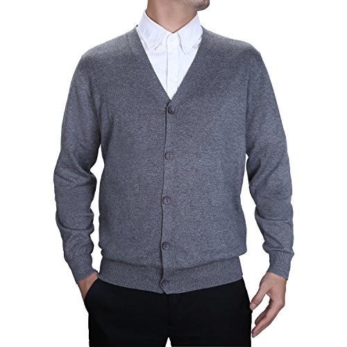 Lightweight Cotton Cardigan Sweater - 4