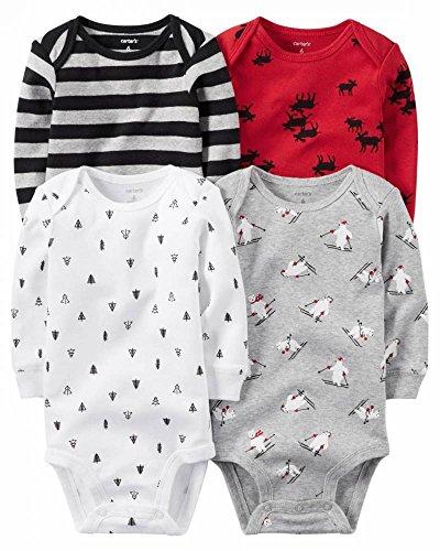 Carters Girls Multi PK Bodysuits 126g459