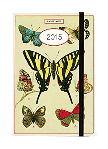 Cavallini Papers 2015 Flora and Fauna Butterflies Weekly Planner (New York 2015 Calender)