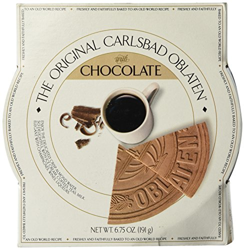 The Original Carlsbad Oblaten 6.75 Oz. Gift Tin, Chocolate