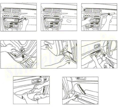 Bigfish Car Auto Door Panel Removing Installation Audio