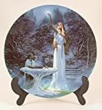 Wedgwood Lord of the Rings plate The Mirror of Galadriel Ted Nasmith - CP869