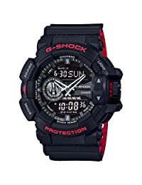 Casio G-Shock GA400HR-1A Black/Red Layer Series - One Size