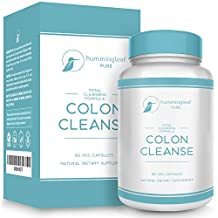 Hummingleaf's Complete COLON CLEANSE System for Safe & All Natural Cleansing & Detoxifying - Premium Weight Loss, Detox, and Digestive Health Supplement - Great To Flush Toxins, Impurities, & Waste the Natural Way with NO Side Effects
