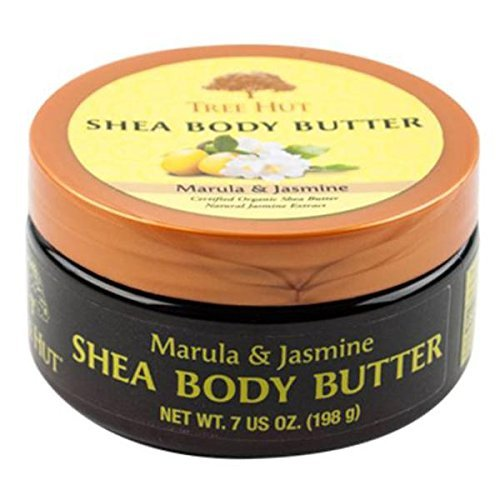 Tree Hut Shea Body Butter, Marula/Jasmine, 7 Ounce