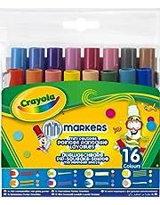 Crayola - 16 rotuladores con puntas diversas y tinta lavable (58-8709)