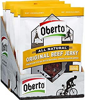 product image for Oberto All Natural Beef Jerky, Original, 1.5 oz, 12 ct