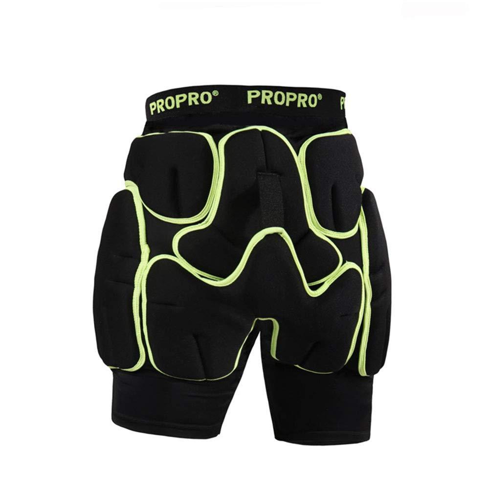 ZYSMC Sci Pannolino Pattinaggio Pattinaggio Pannolino Protezioni Multi-Funzione Anti-Caduta Pantaloni Sci Indumento Protettivo, S