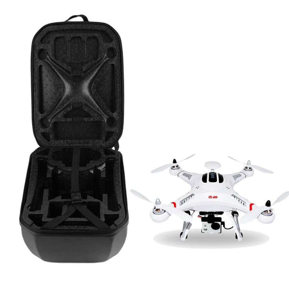 Holarose DJI Phantom 4 Drone Case Waterproof Protective Carrying Box, Backpack Minidrone Carrying Drone Box