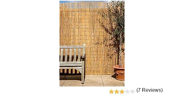 Canisse en Latte de bambú, 4 x 1,8 m: Amazon.es: Jardín