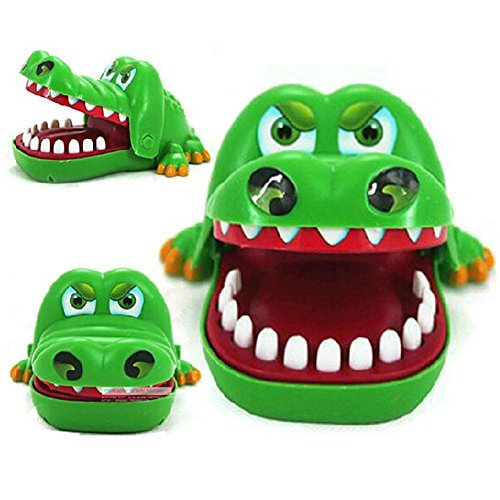Yamalans Funny Crocodile Mouth Dentist Bite Finger Game Adult Children Toy Xmas Gift