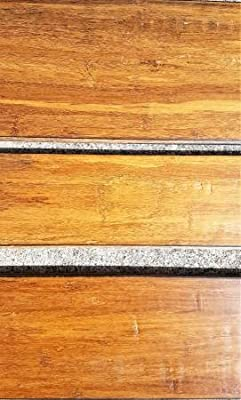 Strand Woven Distressed Dark Honey 1/2 in. x Multi Width x 72 in. Length Click Lock Bamboo Flooring (21.86 sq. ft./case)