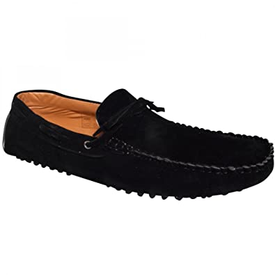 Men's Italian Faux Suede Casual Loafers Moccasins Driving Slip on Shoes UK  9 (EUR 43