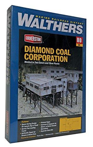 Walthers Cornerstone Diamond Coal Corporation, 49.2 by 33.4 by 19cm