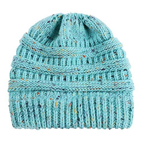 Warm Slouchy Winter Stricken Hut Ausgebeult CICIYONER Wolle Kappen ...