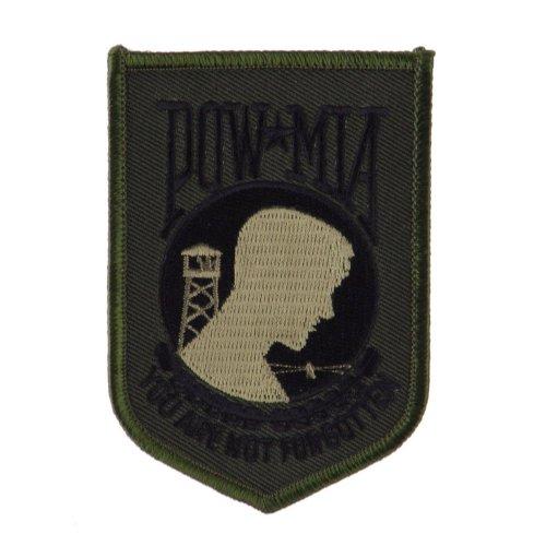 Pow Mia Embroidered Military Patch - Pow Subdue OSFM