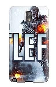 Anti-scratch And Shatterproof Battlefield 4 Phone Case Galaxy Note 3/ High Quality Tpu Case