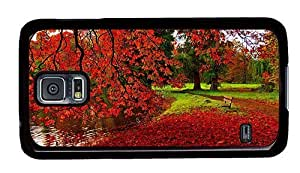 Hipster Samsung Galaxy S5 Case DIY Park Autumn PC Black for Samsung S5
