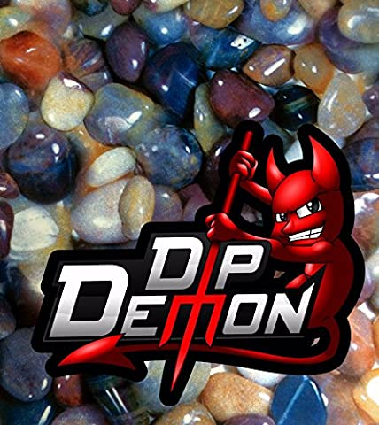 DECORATIVE COLORED ROCKS HYDROGRAPHIC WATER TRANSFER FILM HYDRO DIPPING DIP DEMON WIZARD APE - Demon Carbon Fiber