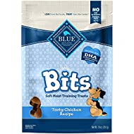 Blue Buffalo BLUE Bits Natural Soft-Moist Training Dog Treats, Chicken Recipe 16-oz bag